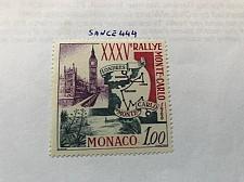 Buy Monaco Rallye of Monte Carlo 1966 mnh stamps