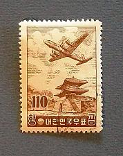 "Buy 1956 Korea ""Douglas DC7 over the East Gate"""