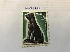 Buy Monaco Dog congress 1967 mnh stamps