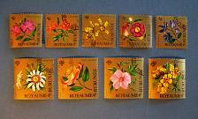 """Buy 1966 Burundi """"Flowers"""""""
