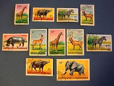 "Buy 1964 Burundi ""Wild Animals"""