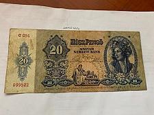 Buy Hungary 20 pengo banknote 1941