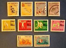 "Buy 19660's Albania ""Sports Stamps"""
