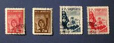 "Buy 1960 Albania ""Women with Olive Branch - Anniversary Stamps"""