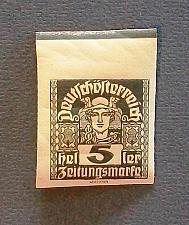 "Buy 1920-21 Austria ""Newspaper Stamp"""