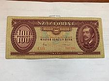 Buy Hungary 100 forint banknote 1984