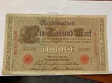 Buy Germany 1000 mark banknote 1910