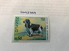 Buy Monaco Dog exposition 1971 mnh stamps