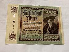 Buy Germany 5000 marks crisp banknote 1922