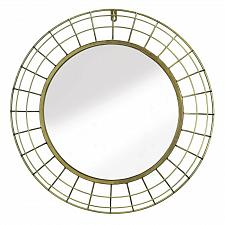Buy ON SALE!!! GOLDEN WIRE DOME FRAMED WALL MIRROR...WAS $80.00