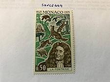 Buy Monaco La Fontaine poet 1972 mnh stamps
