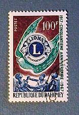"Buy 1967 Dahomey (Benin) ""Lions Club Emblem"""
