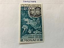 Buy Monaco Mediterranean research 1969 mnh stamps