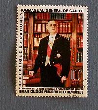 Buy 1967 Dahomey (Benin) President DeGaulle