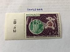 Buy Monaco Tel Star 1963 mnh stamps a
