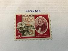 Buy Monaco George Cayley inventor 1973 mnh stamps