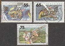 Buy [NE0766] Netherlands: Sc. no. 766-768 (1991) Used complete set