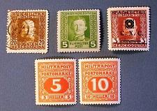 "Buy 1912-18 Boznia and Herzegovina ""Military Stamps"