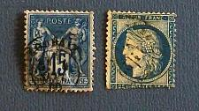 "Buy 1800's France ""Pax and Mercury and Ceres Stamps"""