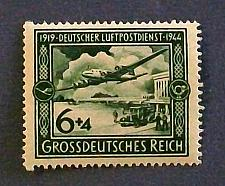 "Buy 1944 Germany (Third Reich Era) ""25th Anniversary of Airmail"""