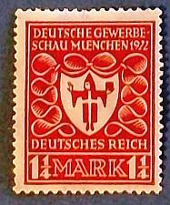 "Buy 1922 Germany ""Arms of Munich"""