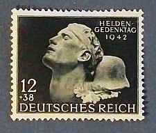 "Buy 1942 Germany (Third Reich Era) ""War Heroes Memorial Day"""