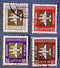 "Buy 1957 Germany (DDR Era) ""Stylized Planes"""