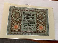 Buy Germany 100 marks Reich banknote 1920 #