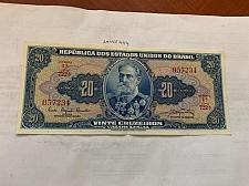 Buy Brazil 20 cruzeiros crispy banknote