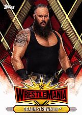 Buy Braun Strowman #27 - WWE Topps 2019 Wrestling Trading Card