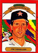 Buy Jim Deshaies #7 - Astros 1990 Donruss Baseball Trading Card