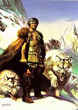 Buy Lord of the Wolves #42 - Boris 1992 Fantasy Art Trading Card