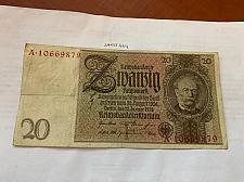 Buy Germany 20 Reichmark banknote 1929 #