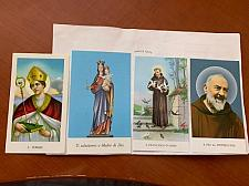 Buy Italy several religious figurine cards
