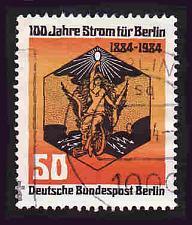 Buy Germany Berlin Used Scott #9N492 Catalog Value $.65