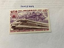Buy Monaco Railway union 1972 mnh stamps