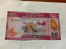Buy Sri Lanka 20 rupee banknote 2010