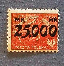 """Buy 1923 Poland """"Inflation Stamp"""""""