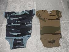 Buy 2 Camouflage Infant Baby Rompers M 19-28 LBS