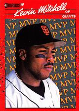 Buy Kevin Mitchell #11 - Giants 1990 Donruss Baseball Trading Card