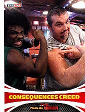 Buy Consequences Creed #91 - TNA 2009 TriStar Wrestling Trading Card