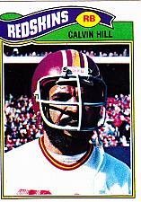 Buy Calvin Hill #429 - Redskins 1977 Topps Football Trading Card