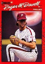 Buy Roger McDowell #251 - Phillies 1990 Donruss Baseball Trading Card