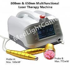 Buy Clinic Use 1000mW Sprained Knee Polyarthritis Multifunctional Laser Therapy Machine