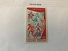 Buy Monaco Amateur theatre festival 1973 mnh stamps