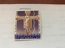 Buy San Marino Cimabue Christmas mnh 1967 #abcd stamps