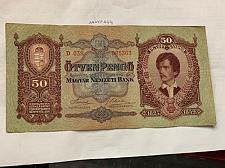 Buy Hungary 50 pengo banknote 1932