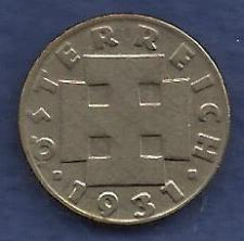 Buy AUSTRIA 5 Groshen 1931 Coin