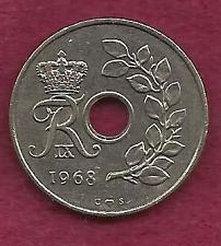 Buy DENMARK 25 Ore 1968 Coin