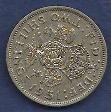 Buy GREAT BRITAIN 2 Shilling 1951 Coin - George VI